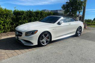 Mercedes S63 Convertible